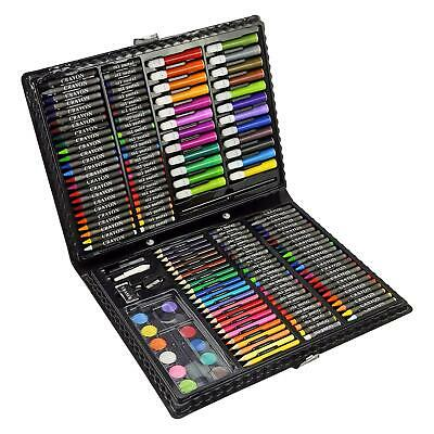 168 Pcs Art Set Childrens/Kids Colouring Drawing Painting Arts & Crafts Case