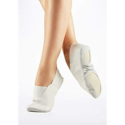 Clothes, Shoes & Accessories GYMNASTIC SHOES WHITE LEATHER TRAMPOLINING pumps TRAINING DANCE CUSHIONED AA