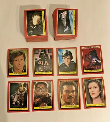 1983 Topps Star Wars Return of the Jedi Complete Set 1-132 NO STICKERS