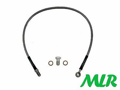 200Sx S13 S14 S15 Turbo Stainless Steel Braided Clutch Line Hose Pipe Ox