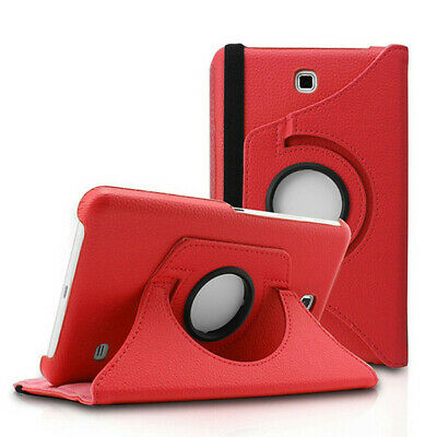 """P U leather Rotating Stand Folding Case for Samsung Galaxy Tab 4 7"""" T230"""