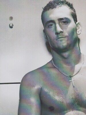 Will Mellor RARE poster from Fashion Magazine