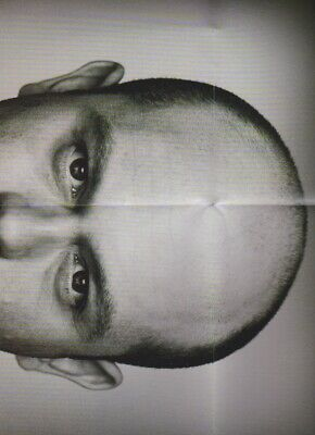 Ross Kemp & Robbie Williams RARE poster from Fashion Magazine