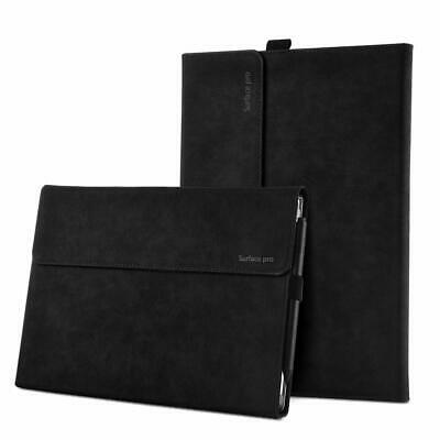 Microsoft Surface Pro 7/6 Case Pen Holder Slim Dirt resist Non-slip Kickstand