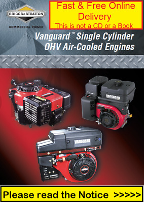 Briggs and Stratton 272147 Vanguard Single Cylinder OHV Repair Service Manual