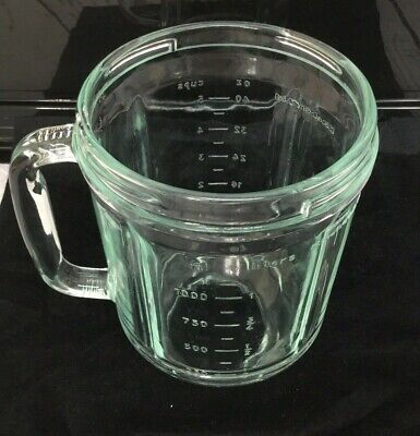Kitchen Aid Replacement Blender Glass Pitcher Canister 40 Oz. 5 cup OEM