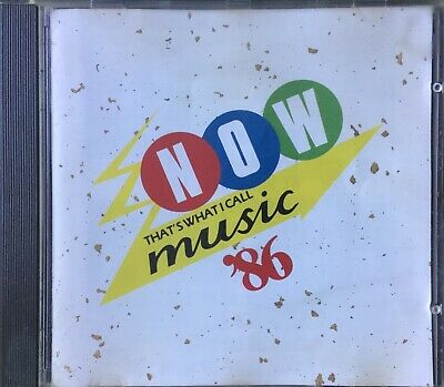 Now Thats What I Call Music 86 (Rare 1986 Cd Album )