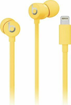 Authentic Beats by Dr. Dre urBeats³ Earphones with Lightning Connector Yellow
