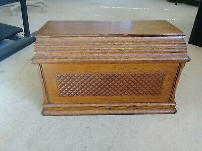 1890's SINGER TREADLE SEWING MACHINE DUST COVER