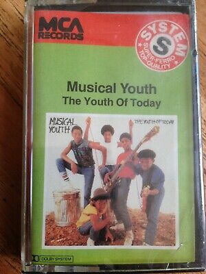 cassette audio musical youth the youth of today rare neuve sous blister