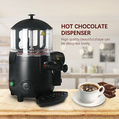 5L Commercial Electric Hot Chocolate Drink Dispeser Beverage Insulation Mixer