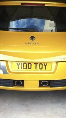 """Y100 TOY CHERISHED REGISTRATION """"Yellow Toy"""" - BARGAIN PRICE!"""