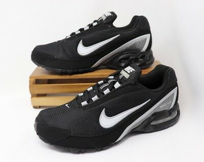 Nike Air Max Torch 3 Running Shoes Black White Silver 319116-011 Men's NWOB