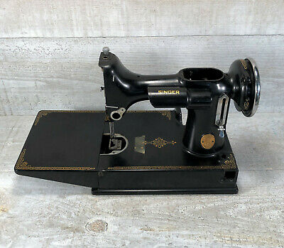 SINGER Featherweight 221 Sewing Machine Body Hull Frame Parts Restoration 1936