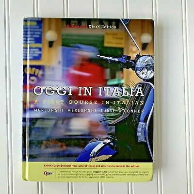 Oggi In Italian: A First Course in Italian Ninth Edition Textbook Hardcover