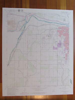 Yuma West Arizona 1979 Original Vintage USGS Topo Map