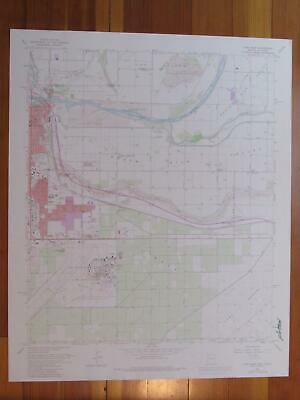 Yuma East Arizona 1979 Original Vintage USGS Topo Map