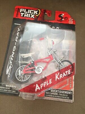 Schwinn sting-ray bicycle By Flick Trix Toys Apple Krate  New In Box ,Displayed