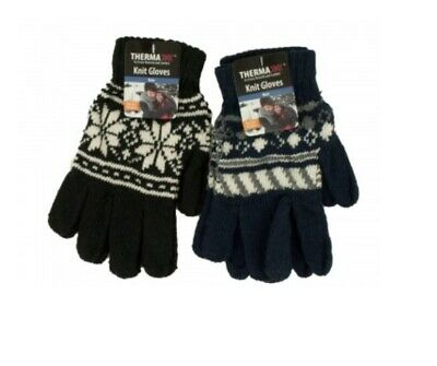 Fall//Winter Gloves For Women /& Teenagers 6 Pairs Lot GLV1165 ^