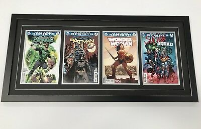 Changeable 4 Comic Frame. Safe Secure Way To Display Comics (Books Not Included)