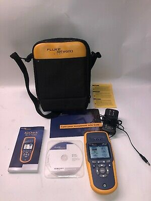 Fluke AIRCHECK Wifi Tester with Case - TESTED -