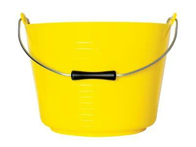 Red Gorilla Flexible Tub Bucket 22 Litre GORTT4