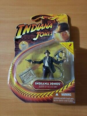 "Indiana Jones Raiders of the Lost Ark Indy 3.75"" Action Figure Hasbro 2008 VHTF"