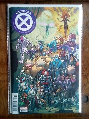 HOUSE OF X #6  JAVI GARRON CONNECTING VARIANT MARVEL NM High Grade 2019