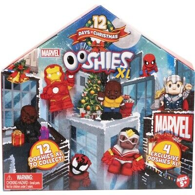 12 Days of Christmas Ooshies Marvel XL Figures