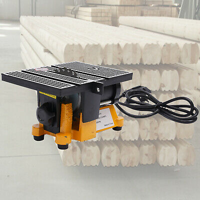 "Lightweight Mini Table Saw Wood metal Cutting Tool DIY Cutter 4500rpm 4"" Blades"
