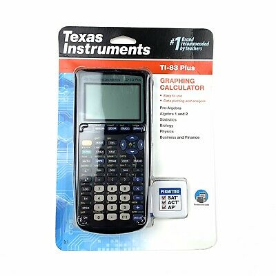 Texas Instruments TI-83 Plus Graphing Calculator SAT ACT AP Permitted Brand New
