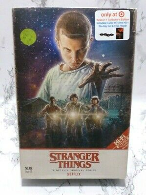 Stranger Things - Season 1 (4K Ultra HD + Blu-Ray) TARGET Exclusive - New