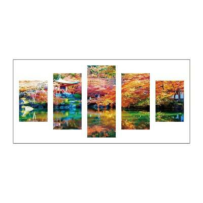 1989candy Scenery 5D DIY Full Drill Diamond Painting 5-Pictures Combination BF#