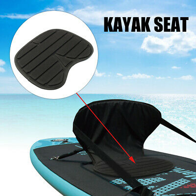 2 CANOE KAYAK Boat Seat Chairs Fold Cushion Pad Backrest