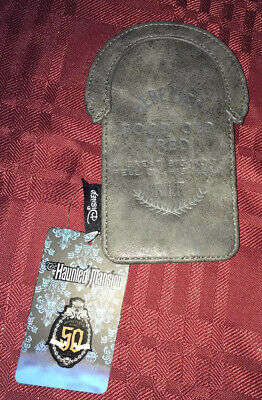Loungefly Disney Haunted Mansion TOMBSTONE CARDHOLDER Here Lies Good Old Fred