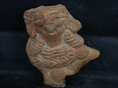 Ancient Teracotta Mother Goddess Torso Indus Valley 600 BC No Reserve #STC607