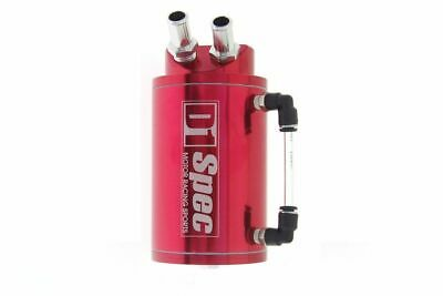 Oil Catch Tank M-8732 D1Spec 9Mm Red