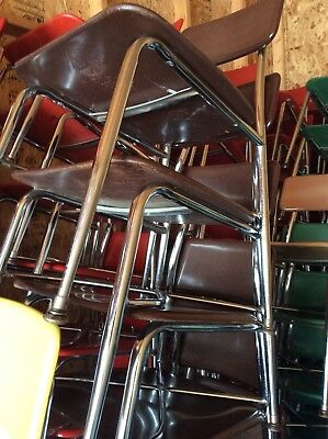 32 Vtg Heywood Wakefield Hey Woodite Adult Size Chairs - COLORS - Very Good