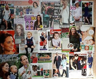 Duchess Kate Middleton Clippings Magazine Article Royal Family