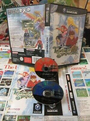 Game Cube:Tales of Symphonia [TOP RPG NAMCO & 1ERE EDITION] Fr