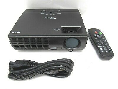 Optoma TX7156 1024 x 768 DLP Projector 142 Lamp Hours Used