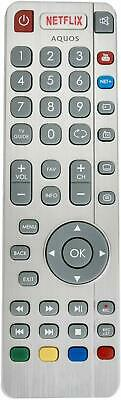 VINABTY SHWRMC0116 Aquos RF Remote Control fit for Sharp YouTube ...