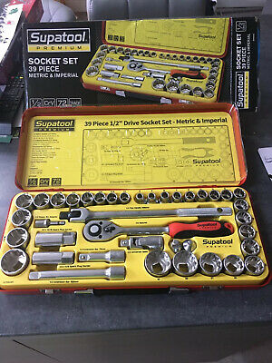 socket set 1/2 39 Piece