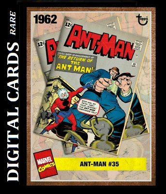 Topps Marvel Collect Card Trader Archives Ant-Man #35