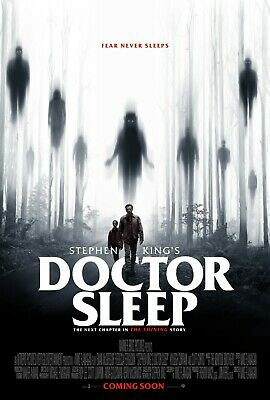 "Doctor Sleep (2019) Movie Silk Fabric Poster Stephen King 11""x17"" 24""x36"" Horror"