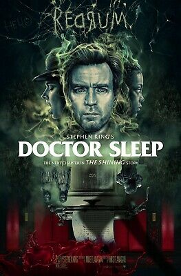 "Doctor Sleep (2019) Movie Silk Fabric Poster Horror 11""x17"" 24""x36"" Stephen King"