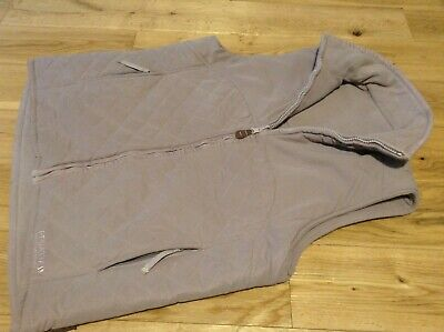 Designer Regatta Ladies Light Purple Sleeveless Reversable Fleece Jacket Size 12