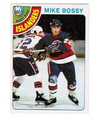 OPC 78/79 Mike Bossy Rc.  #115 with tape in the back.