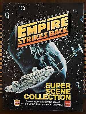 1980 Vintage Star Wars Empire Strikes Back Super Scene Collection Burger King