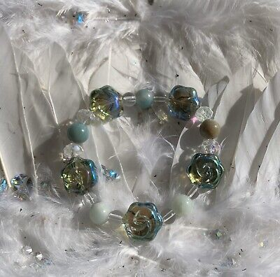 Code 572 Flower of Health Archangel Raphael Infused Bracelet Doreen Virtue